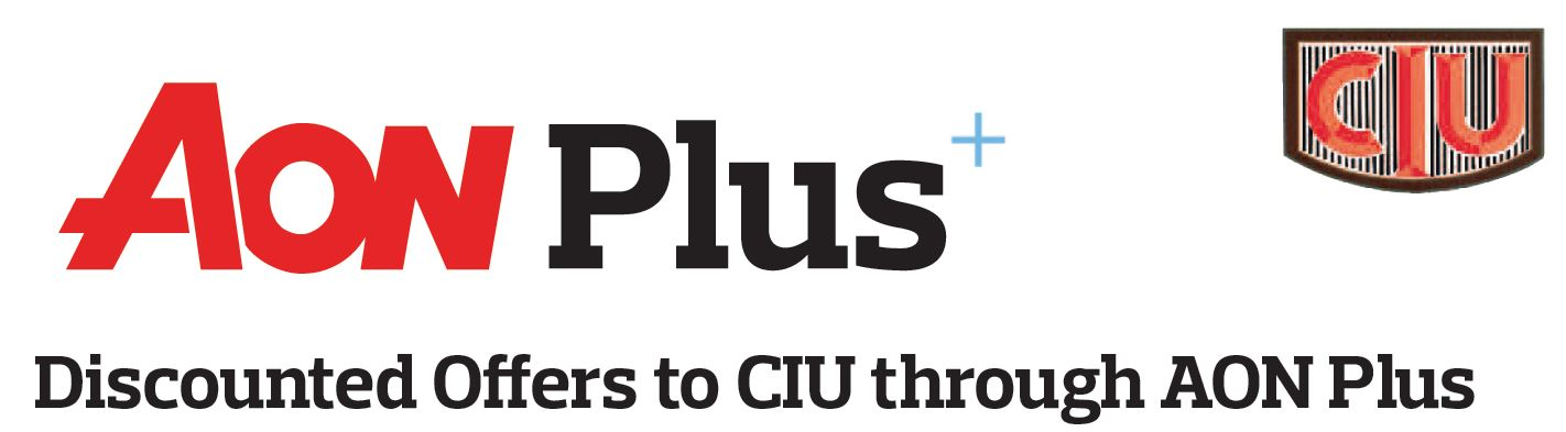 Select to register or enter AON PLUS+ offers for CIU members